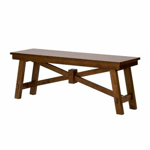 Marni Wood Bench by August Grove
