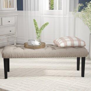 Charlton Home Seapine Upholstered Bench
