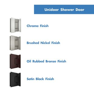 Unidoor Plus 30 x 72 Hinged Frameless Shower Enclosure with Clear Max Technology by DreamLine