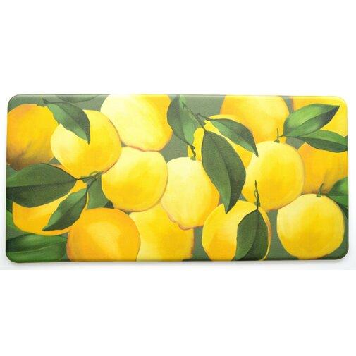 Easterbrooks Lemons Kitchen Mat