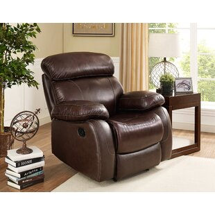 Price comparison Shum Leather Power Recliner by Red Barrel Studio Reviews (2019) & Buyer's Guide