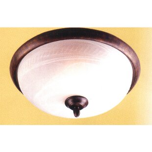 Classic Lighting 3-Light Semi-Flush Mount