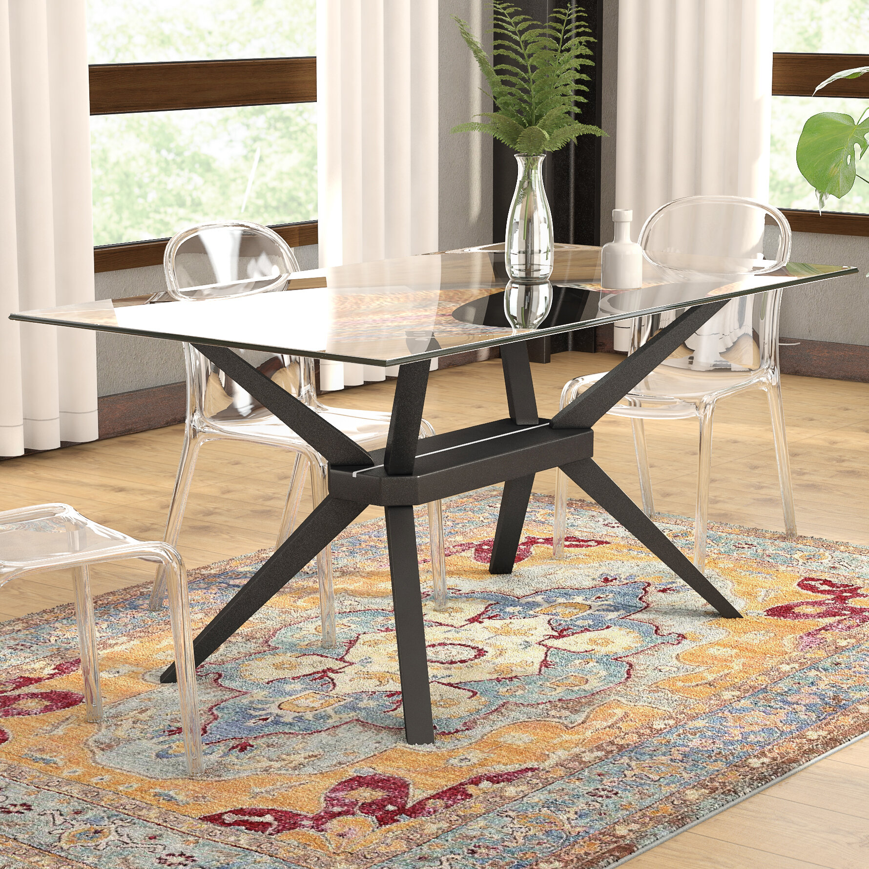 Mercury Row Gober Dining Table & Reviews | Wayfair