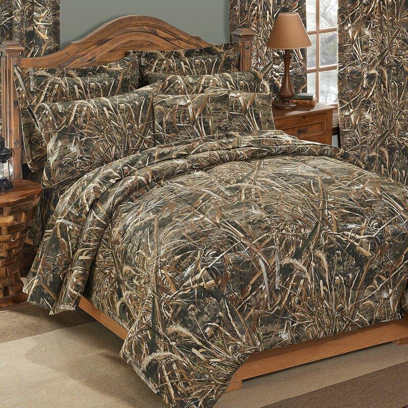 realtree realtree max-5 comforter set & reviews   wayfair
