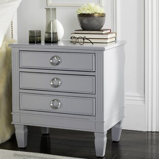 Langley Street Jose 3 Drawer Nightstand