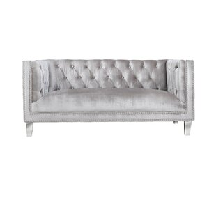 Find Luxullian Citrus Loveseat by House of Hampton Reviews (2019) & Buyer's Guide