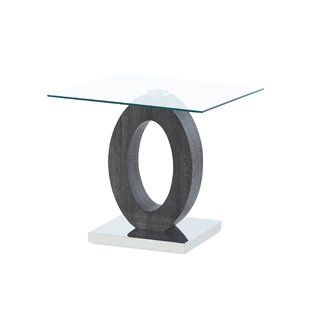 Inexpensive Spurrier Oval Style Base End Table by Orren Ellis