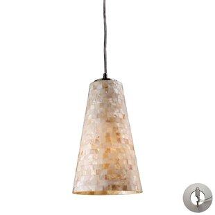 Roehampton 1-Light Cone Pendan..