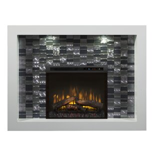 Crystal Recessed Electric Fireplace by Dimplex