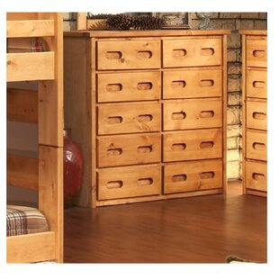 Savings Eldon 10 Drawer Double Dresser ByHarriet Bee