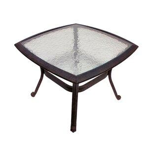 Winston Porter Massimo Glass Bistro Table