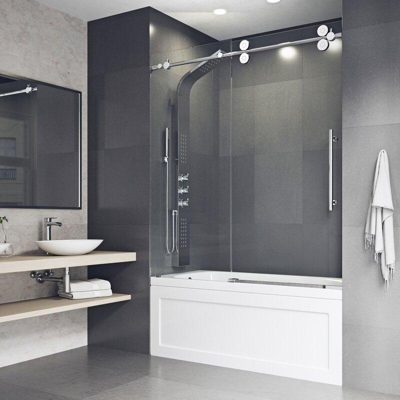 l showers tropic with llc designer tub doors door