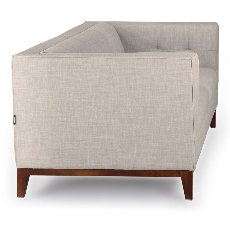 Sofa Loft kardiel harrison mid century modern loft chesterfield sofa reviews