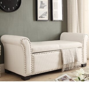 Read Reviews Grogg Faux Leather Storage Bench ByDarby Home Co