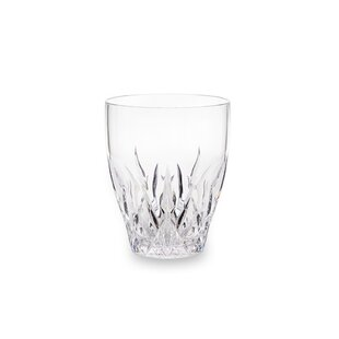 Corr Crystal 12 oz. Stemless Pine Glass By Charlton Home