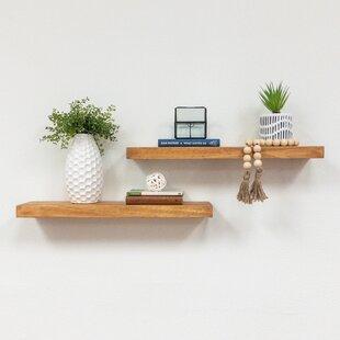 Wall Mounted Wood Shelves Wayfair
