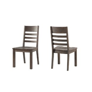 Benat Solid Wood Dining Chair (Set of 2) Gracie Oaks
