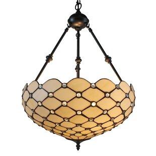 Coupon 2-Light Bowl Pendant ByAmora Lighting