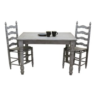 Benson Solid Wood Dining Table August Grove