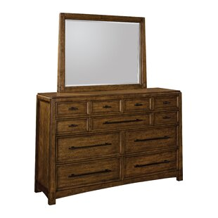 Winslow Park 11 Drawer Dresser with Mirror by Broyhill®