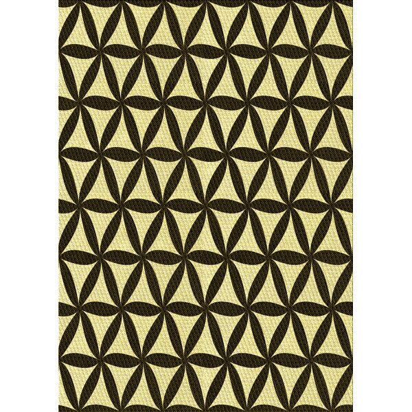 East Urban Home Bewdley Geometric Wool Yellow Area Rug Wayfair