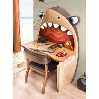 "Vidrine Shark 40.16"" W Writing Desk Zoomie Kids"