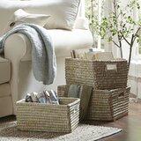 Rectangular Storage Wicker Baskets