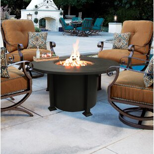 New Spring Patio Aluminum Fire Pit Table