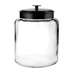 Montana Glass 8 qt. Storage Jar with Lid
