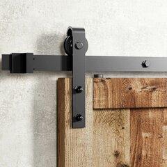 ZEKOO Sliding Barn Door Hardware Accessories Track Connector Junction Plate
