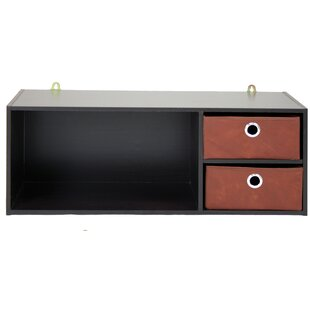 Zipcode Design Ewart Wall Mounted Storage Desk Hutch