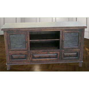 Aishni Home Furnishings Castle TV Stand for TVs up to 55