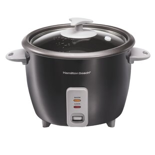4 Piece 16 Cup Rice Cooker and Steamer