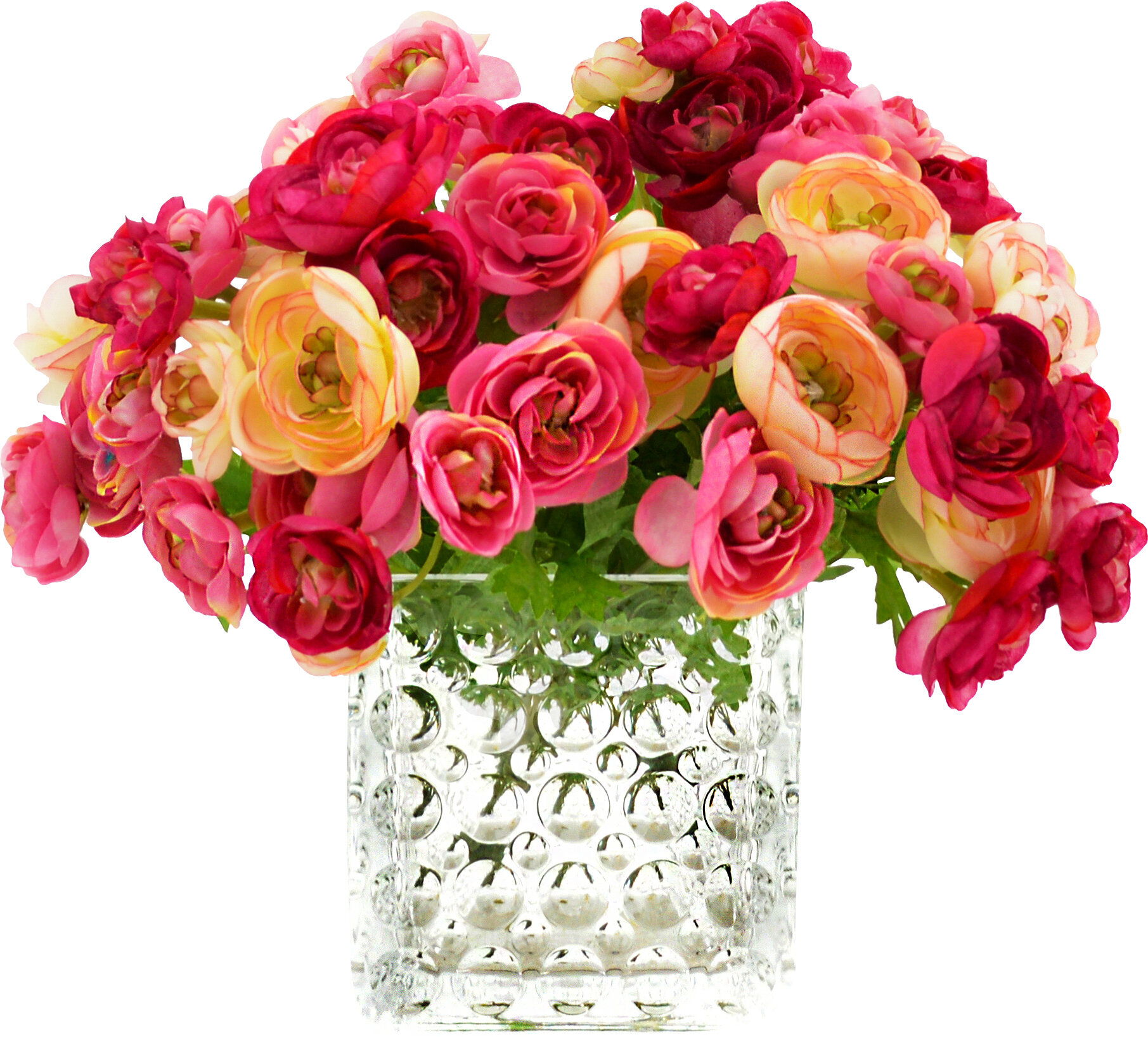 Ranunculus Red Flower Arrangements You Ll Love In 2021 Wayfair