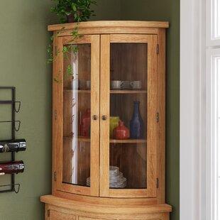 Attirant Millais Petite Corner Display Cabinet