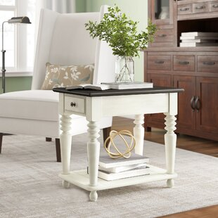 Calila End Table with Storage