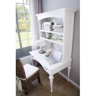 Winthrope Secretary Desk with Hutch by Rosecliff Heights