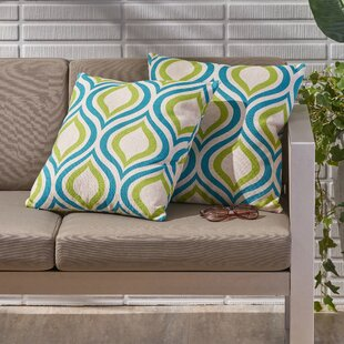 Nader Outdoor Throw Pillow (Set Of 2) By Ebern Designs