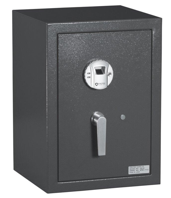 Protex Safe Co. Burglary Security Safe with Biometric Lock