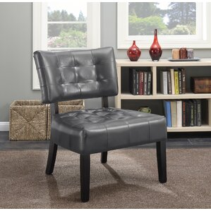 Roundhill Furniture Anjotiya Slipper Chair Image