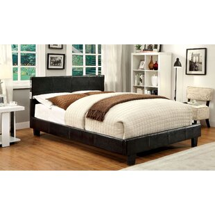 Dolores Upholstered Platform Bed by A&J Homes Studio