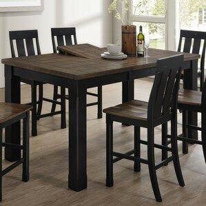 Good Shop To Buy World Menagerie Simmons Casegoods Landrum Counter - Bar height extendable dining table