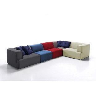Dunnigan Reversible Modular Corner Sofa By Ebern Designs