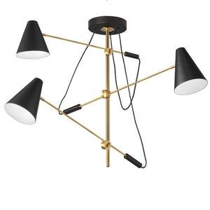 Livia 3-Light Geometric Pendant