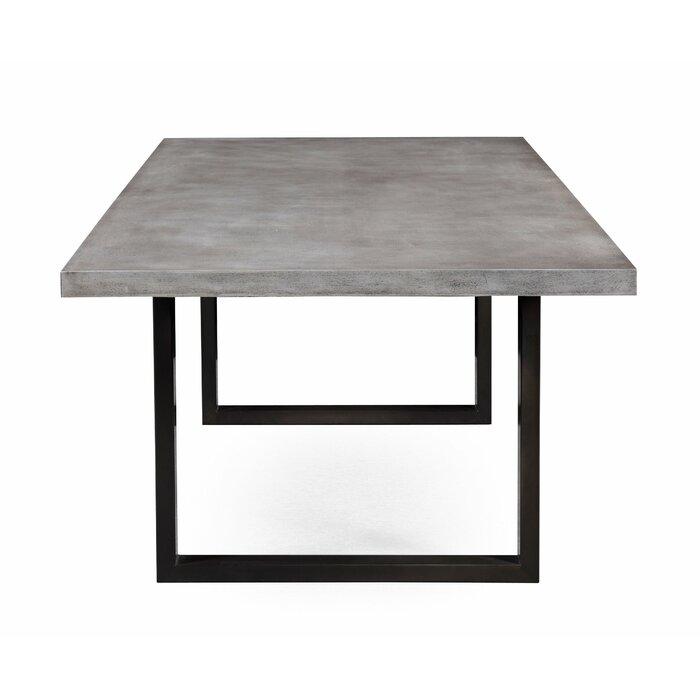 concrete dining table. Carnarvon Concrete Dining Table