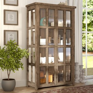 Wilmore Standard Curio Cabinet by Laurel Foundry Modern Farmhouse