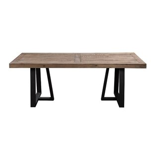 Anastagio Wood and Metal Dining Table