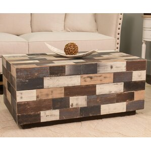 York Rectangle Wood Coffee Table by Union Rustic