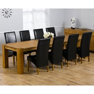 Murcia Extendable Dining Set With 8 Chairs