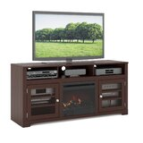Robbin TV Stand for TVs up to 65 with Electric Fireplace Included by Ivy Bronx